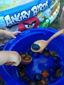 Pescando hielitos