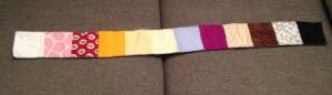 El arco iris de retales