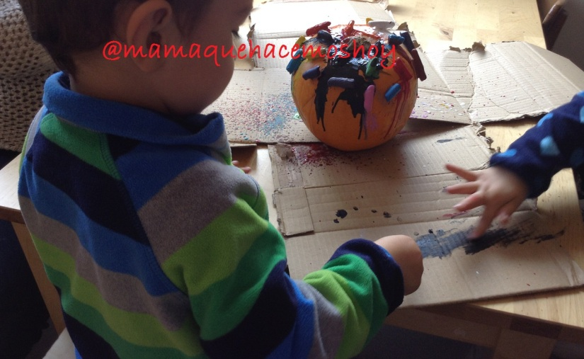Una calabaza de Halloween diferente…